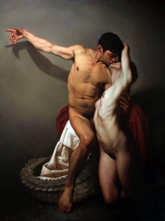 roberto-ferri-paintings_il-bacio-the-kiss-olio-su-tela-200-x-150-cm-anno-2015