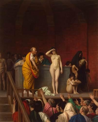 Jean-Léon Gérôme slave-market-in-rome