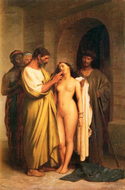 Purchase of a Slave, by Jean-Léon Gérôme