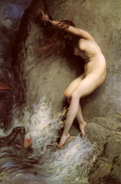 Gustave Dore. Andrómeda